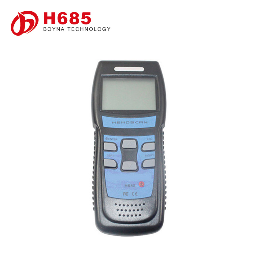 2015 New H685 Professional Memoscan Scan Tool H685 Code Reader for Test Reader and Erase the Car Trouble Codes