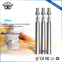 E smoking cigarette vape cartridge glass BUD-GLA Cbd oil vape tanks