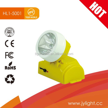 Tiger world china factory 12v charging led rechargeable emergency head lamp for AFRICA