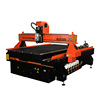 4 Axis 1325 wood cnc engraving machine / cnc router with rotate axis for wood door making