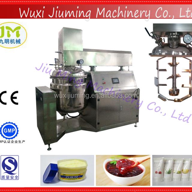 200L Vacuum Cream Toothpaste Emulsifying Mixer