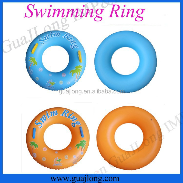 Eco-friendly PVC inflatable adult swim ring/swimming pool ring