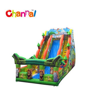 Commercial inflatable dry slide bouncer slide inflatable slide for sale