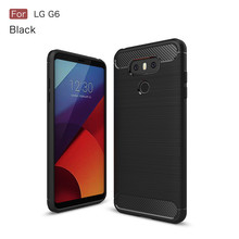 soft carbon fiber tpu mobile phone cover for LG G6 case