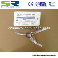CE Uncuffed/Cuffed tracheostomy Tube