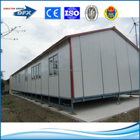 light steel frame prefabricated sandwich panel house price