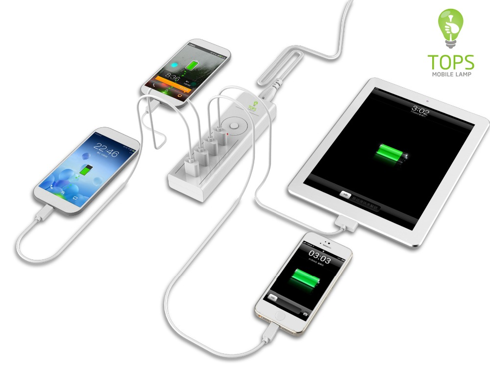 Multi Usb mobile cell phone charger