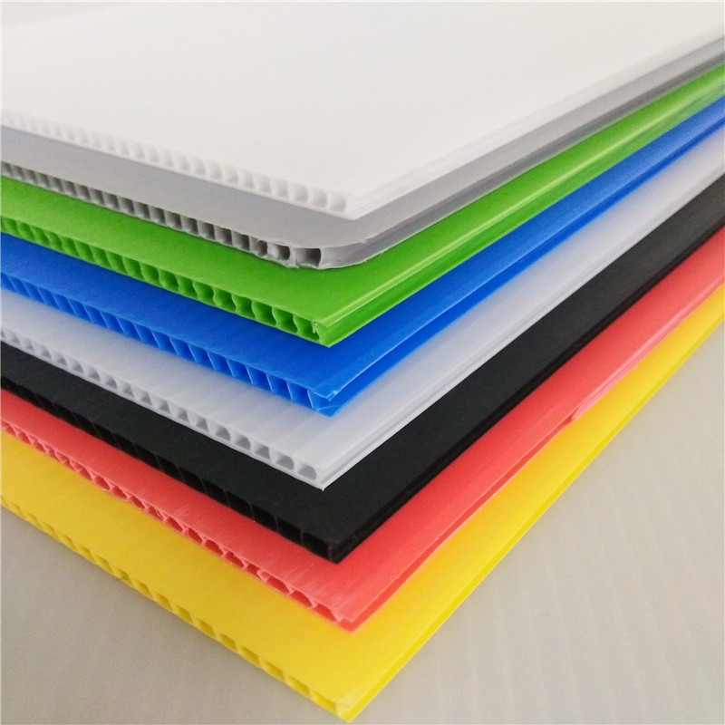 polypropylene ribbed hollow board