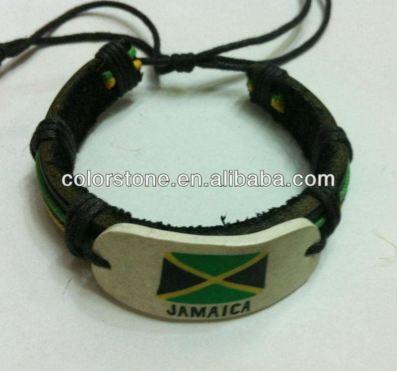 Jamaica Flag Bracelet Supplieranufacturers At Alibaba
