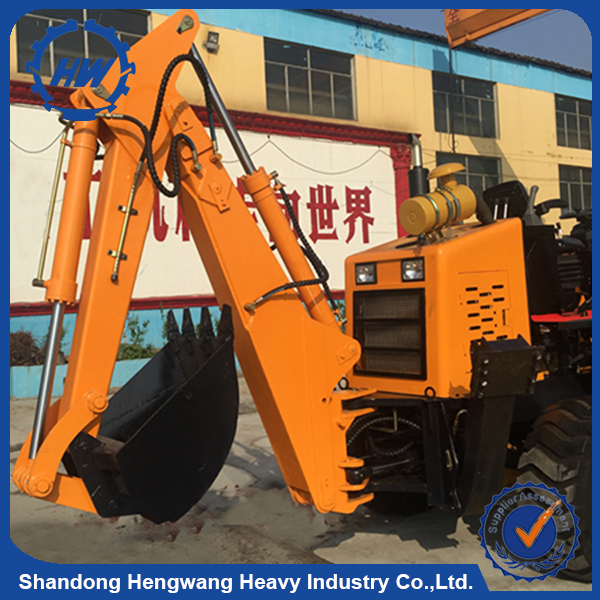 Cheap mini backhoe loader with lowest price /hydraulic digger loader