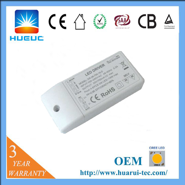 constant voltage 12V 1A ROHS Triac dimmer led high power supply driver