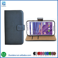 Free Shipping For Moto G 3rd gen XT1064 Supper Slim Leather Flip Mobile Phone Cases Covers
