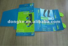 2012 new design pvc box for socks packing