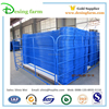 Metal industrial safety fence panels for barrier fence