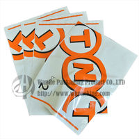 Wholesale self-adhesive printed express disposable plastic bags