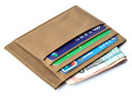 credit card man slim wallet with window
