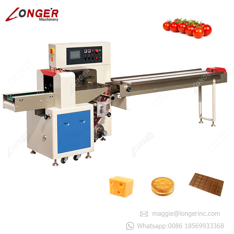 Automatic Horizontal Chocolate Bar Wrapping Pasta Macaroni Pillow Packing Machine Price Spaghetti Packaging Machine
