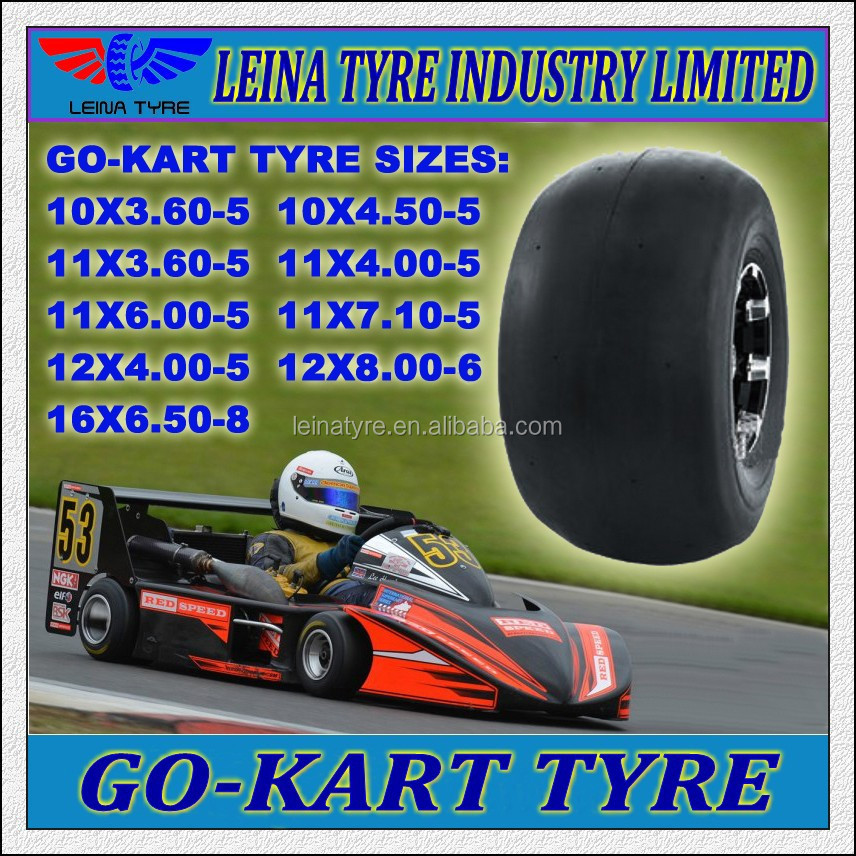 11X4.00-5 11X6.00-5 11X7.10-5 Go Kart Buggy Sport Racing Tyre for match
