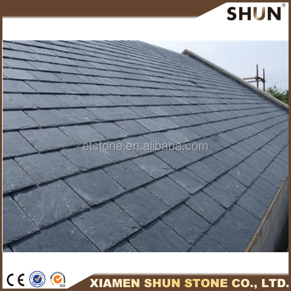 Roofing stone tile, Hot Sale Black Roofing Slate