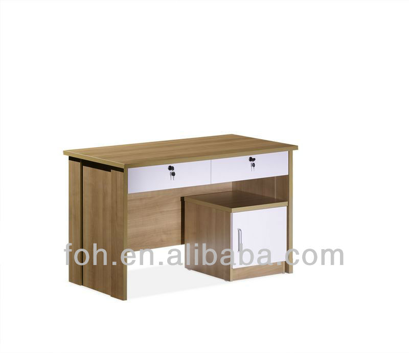 Guangzhou High Quality Rectangle Wooden Office Computer Desk / Home Writing Desk(FOHC1211)
