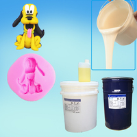 molding silicone rubber for Unsaturated resin crafts mold