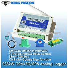 Ice Cream Refrigerator Temperature Sensor Refrigerator Gsm Temperature Data Logger Model(s262/s262w)