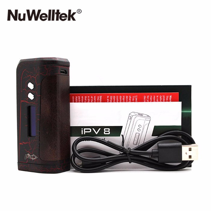 Authentic Pioneer4You IPV8 230W Mod Powered by Dual 18650 Battery IPV 8 Box Mod New hot selling box mod IPV8