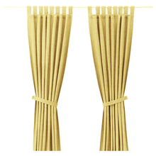 ZJM999 Chinese supplier stripe sheer curtain linen look hot sale new product