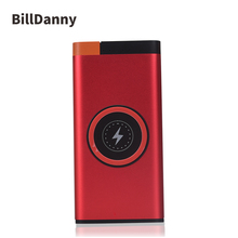 2018 New Products Mobile Wireless Charger Power Bank 10000mAh With QC3.0 For Cell Phone
