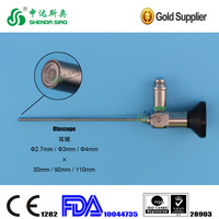 Telescope lens endoscopy optic rigid endoscope otoscope 2.7mm 3mm 4mm 0degree 30dgree 70degree