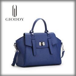 Wholesale Fashion Genuine leather handbag, Italy Trend design leather handbag for Lady