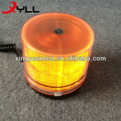 Amber LED Beacon Light for Police Vehicle , Emergency Singal Light , amber strobe beacons
