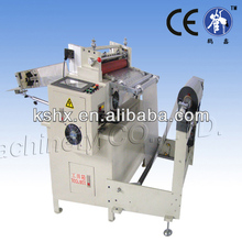 Lithium battery sheeting machine with automatic unwinding system