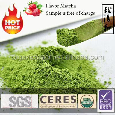 More Than 10 Years Professional Organic USDA DAKKS BRC Certified Premium Spring Matcha/Green Tea Powder/ Factory Supply CERES
