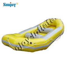 SUNJOY hot sale new product aluminum floor 300cm 2- 8 persons inflatable boat motor drift boat military patrol boat for sale