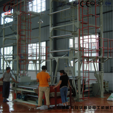 HDPE/LDPE/LLDPE film blowing printing machine plastic packaging bags making machine