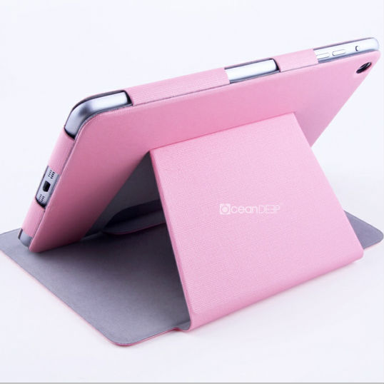 china fashion stand book leather case for iPad mini 2 case