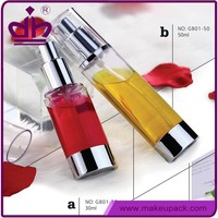 Wholesale 30ml/50ml cosmetic airless attar bottle with pump
