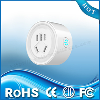 Wholesale Price CE FCC ROHS Certification Electrical Multi Adapter Plug Smart WiFi Socket