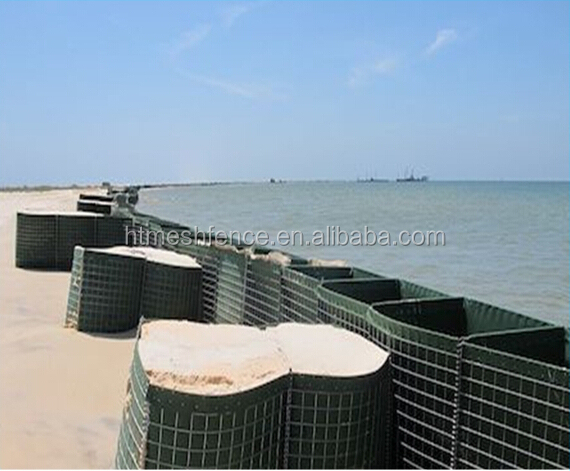 welded hesco bastion blast wall/military hesco barrier for sale/hesco retaining wall