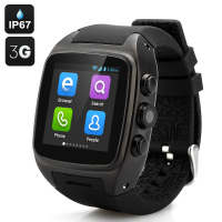 3G Smart Watch Phone 5.0MP camera 1.54inch Android 4.4 MTK6572 smart watch wifi