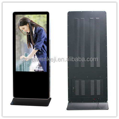 floor stand 55inch portable dvd lcd advertising digital multimedia player