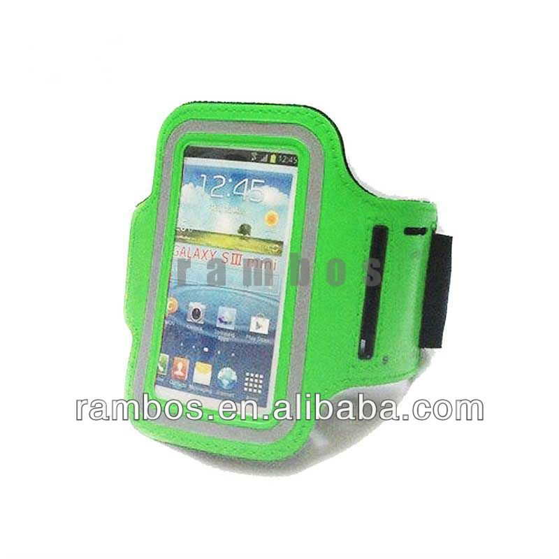Shockproof Pouch Armband Gym Case Arm Band for Samsung Galaxy S4 Mini i9500