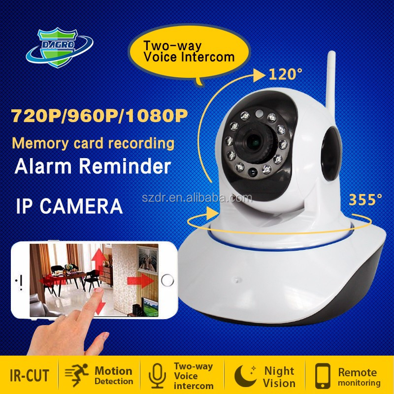 LOW COST PROMOTION New Solution P2P WIFI IP cameras with Alarm