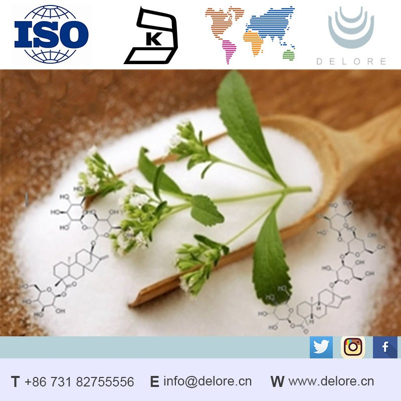 Best selling products high quality natural organic Stevia Extract RA 60%