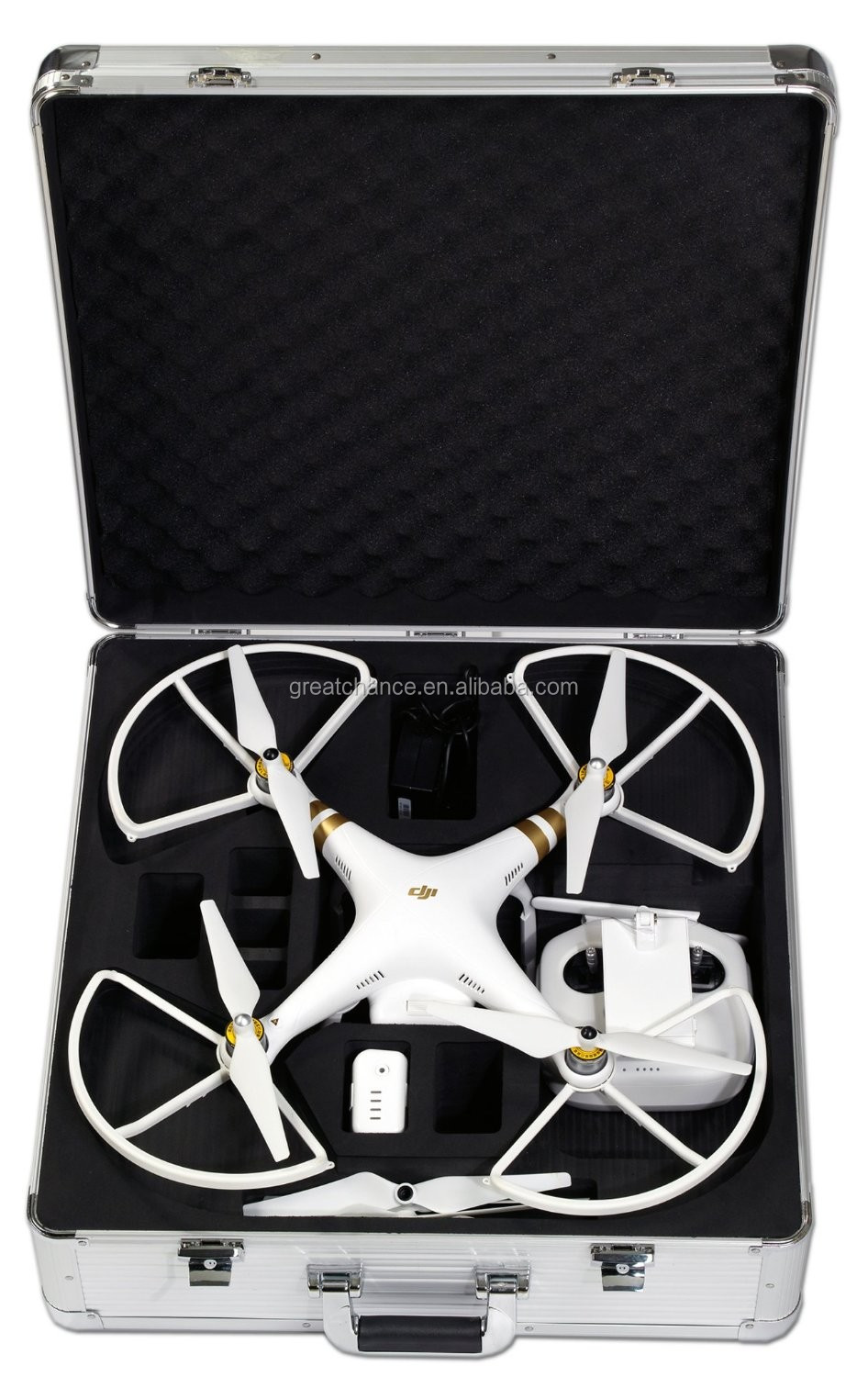 NEW DJI Phantom 3 HardCase designed to fit the Phantom 3 Professional, Advanced, and Standard Edition Drone