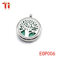 tree of life pendant essential oil diffuser pendant necklace wholesale sublimation blanks pendants