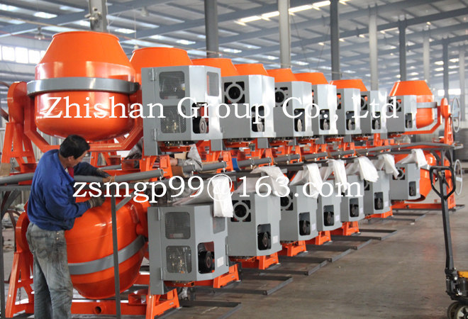 CMH280(CMH50-CMH800) Direct Factory Price Portable Electric Gasoline Diesel Cement Mixer 280L