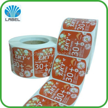 custom adhesive packaging label self adhesive sticker label, labels for plastic bottles, shampoo label