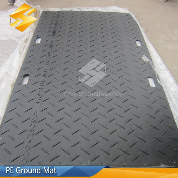 constructive wet ground conditions mats/temporary road mats/vehicle track mats